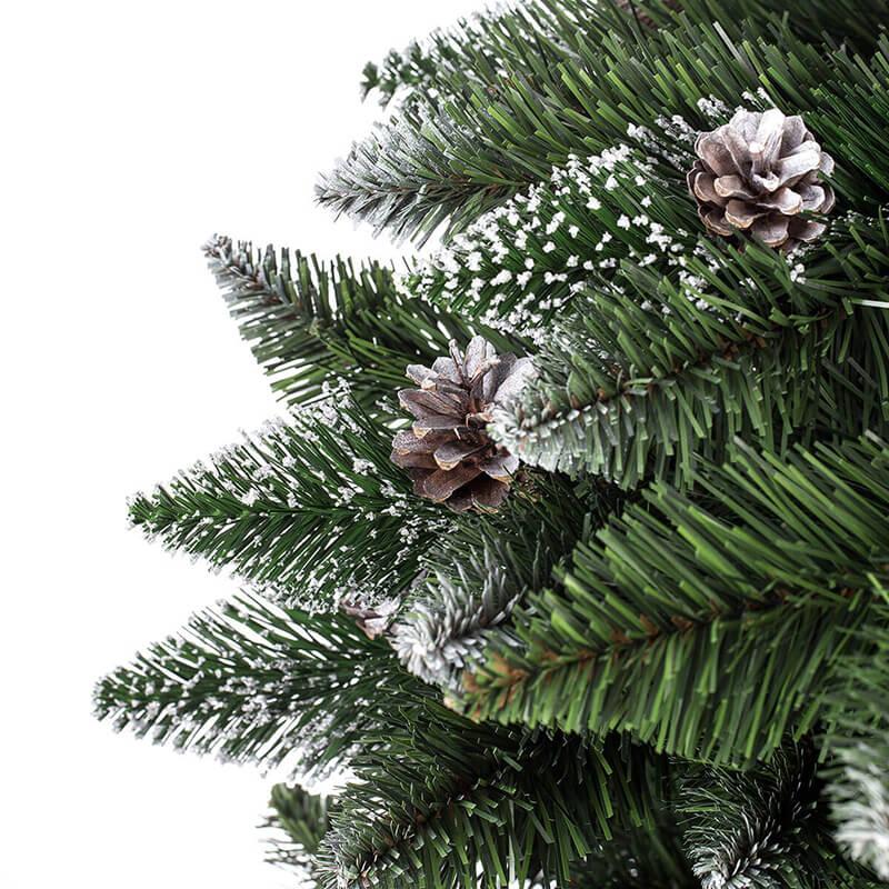 940cfadea74 Árbol de Navidad artificial Pino Natural blanco nevado - FairyTrees