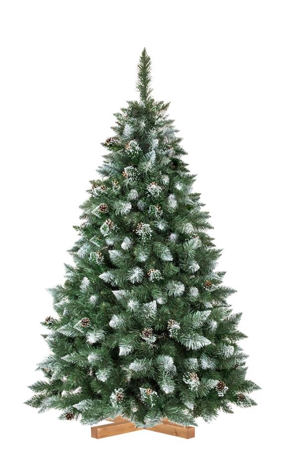 Rbol de navidad artificial pino natural blanco nevado - Arbol artificial de navidad ...