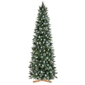 Árbol de Navidad artificial Pino Natural Blanco Nevado slimv