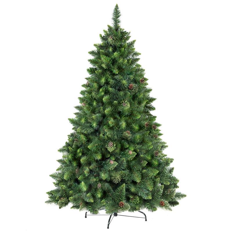 Rbol de navidad artificial pino natural verde fairytrees - Arbol artificial de navidad ...