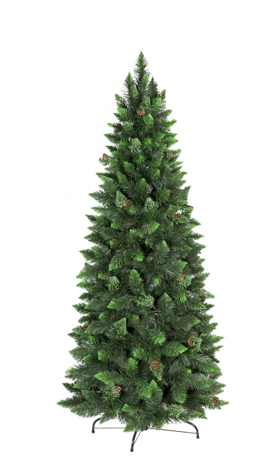 6b40f72499b Árbol de Navidad artificial Pino Natural Verde Slim - FairyTrees