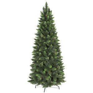 Árbol de Navidad artificial Pino Natural Verde Slim