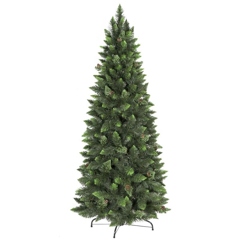 8f5b72c201c Árbol de Navidad artificial Pino Natural Verde Slim - FairyTrees