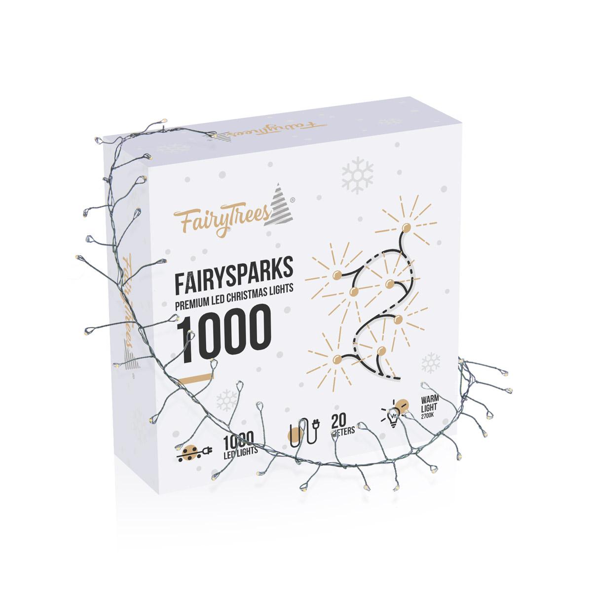 Lucecitas navideñas LED FairySparks 1000