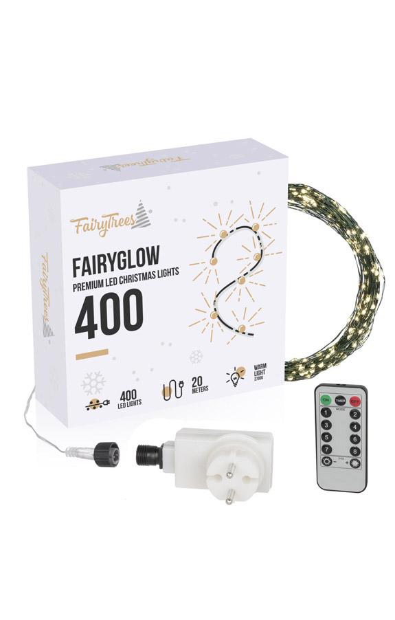 Lucecitas navideñas LED FairyGlow 400
