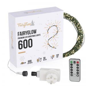 Lucecitas navideñas LED FairyGlow 600